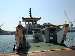 Jetty from Onomichi to Mukaishima(向島)