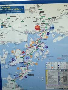 shimanami map