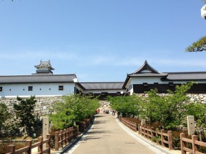 Imabari castle entrance