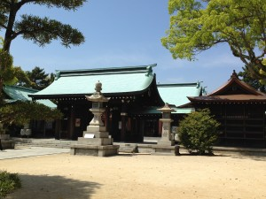 Fukiage jinja (shrine) 2