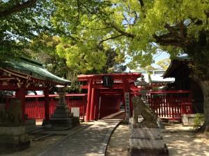 Fukiage jinja (shrine) 3