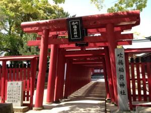 Fukiage jinja (shrine) 5