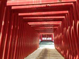 Fukiage jinja (shrine) 6