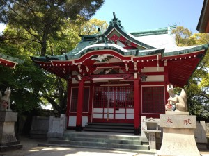 Fukiage jinja (shrine) 7