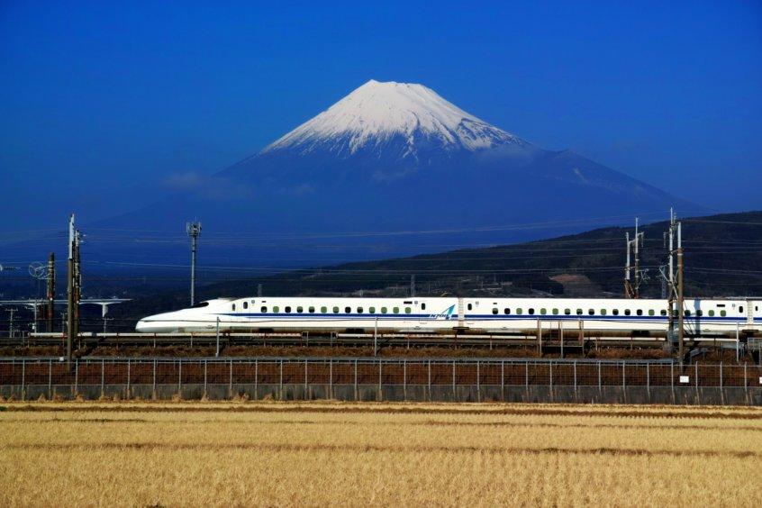 mt fuji bullet train