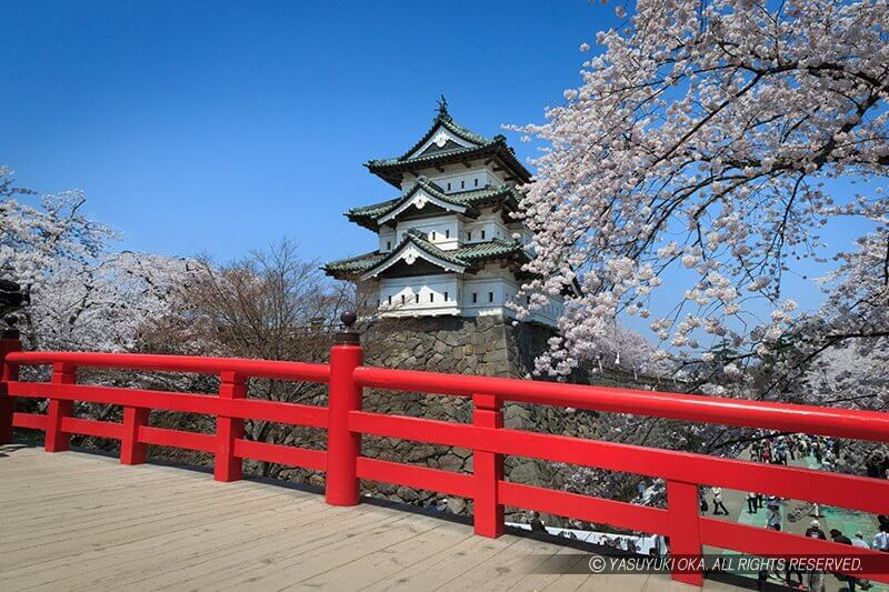 Japan castles Hirosaki castle