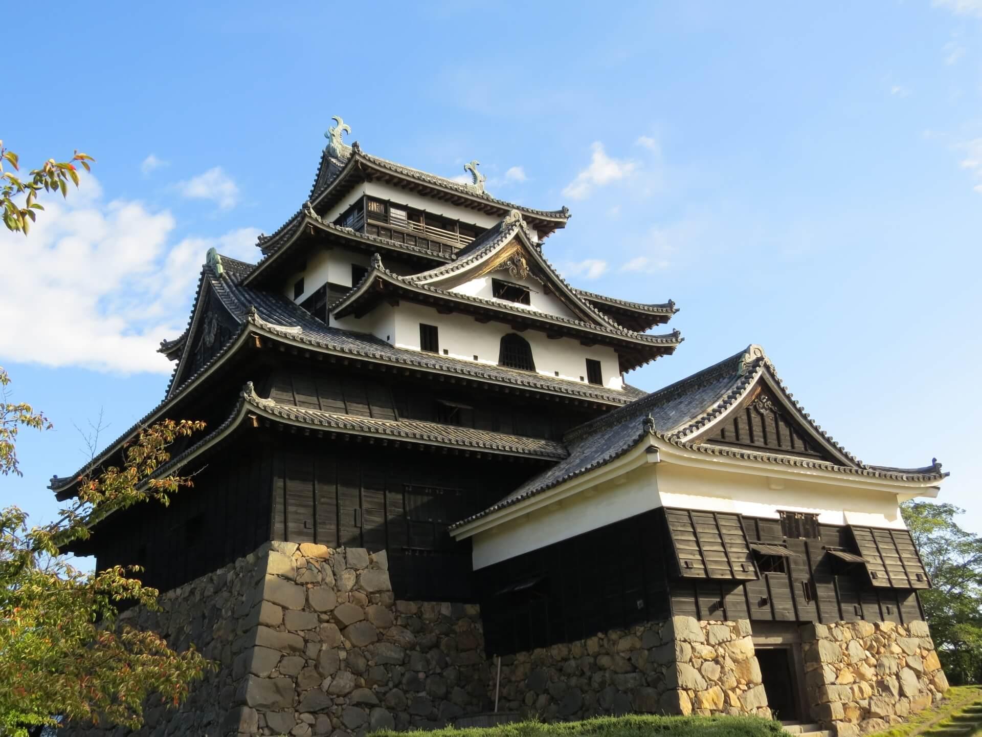 Japan castle matsue castle