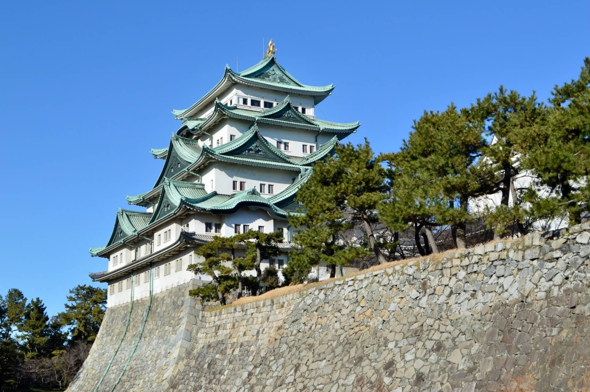 Japan castle nagoya castle