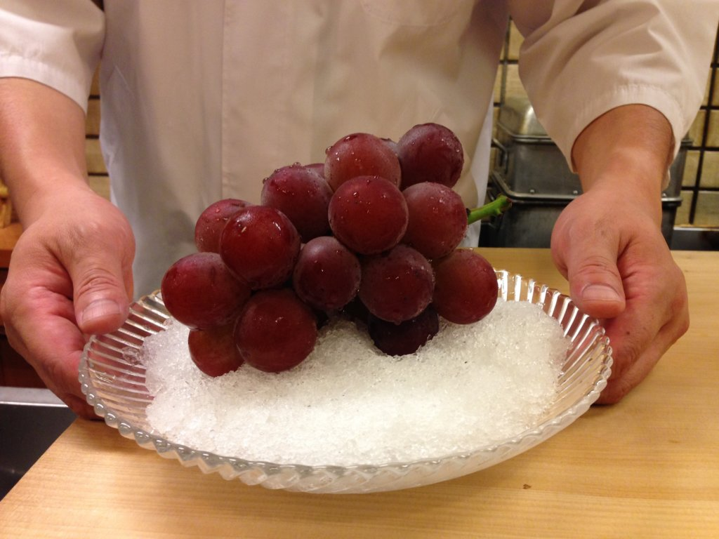 Japan Ruby Roman Grapes