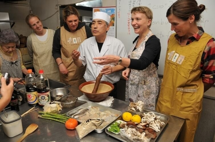 cooking class in japan