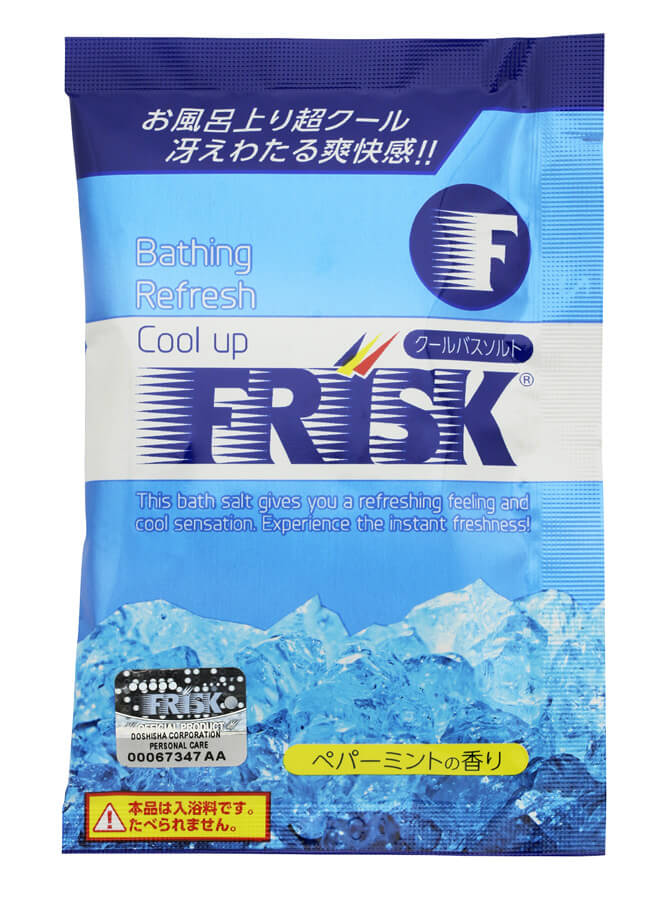 Japan cooling summer bath salts