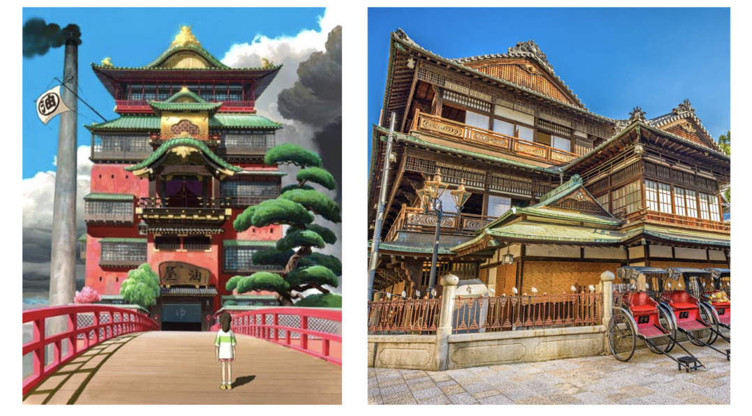Studio Ghibli Films Real Life Locations In Japan