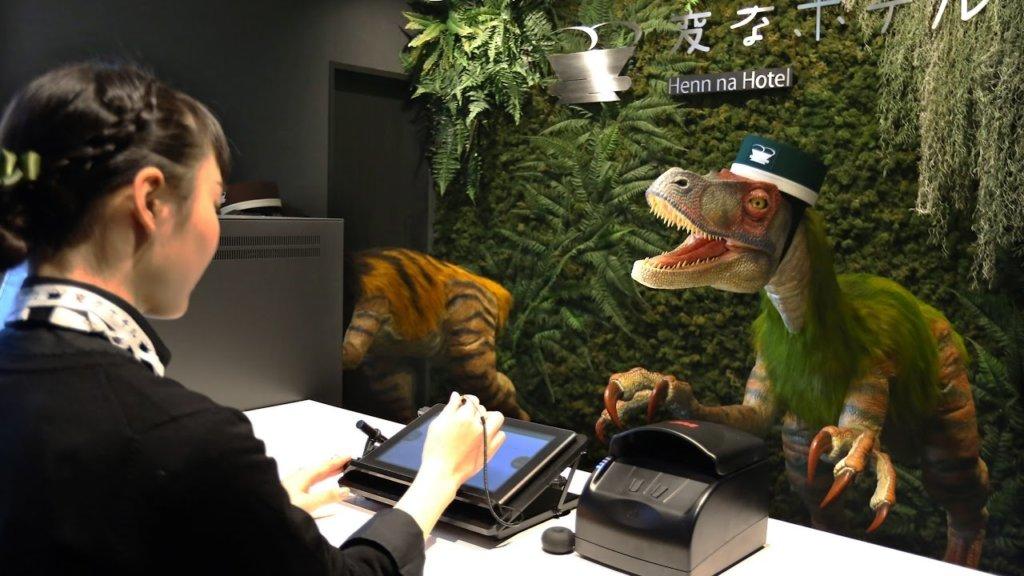 hen na hotel dinosaurs
