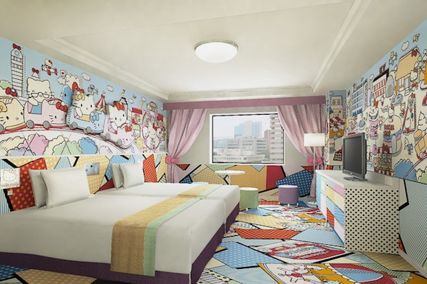 Keio Plaza hotel hello kitty room