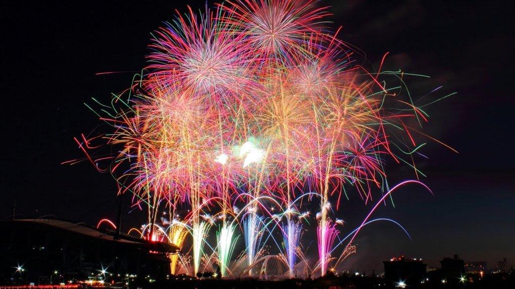 toyota oiden matsuri fireworks