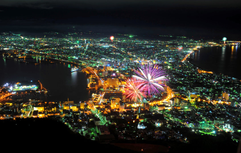 Hakodate ten million dollar night view