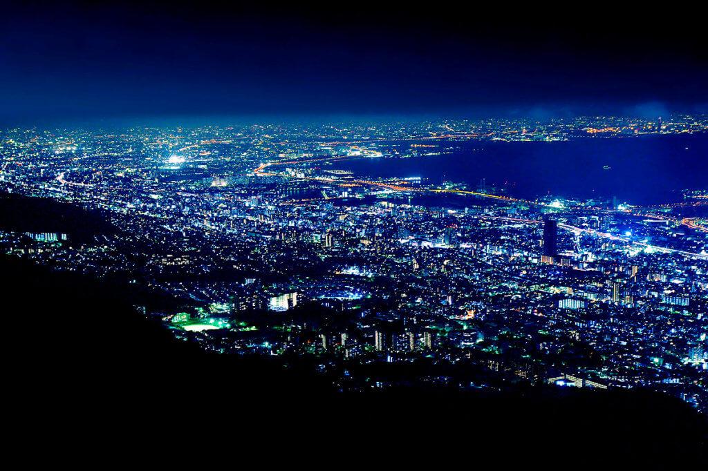 kobe Maya ten million dollar night view