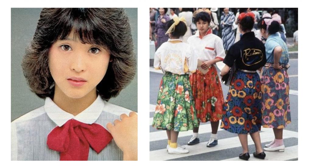 Seiko Matsuda and fashion 1980s