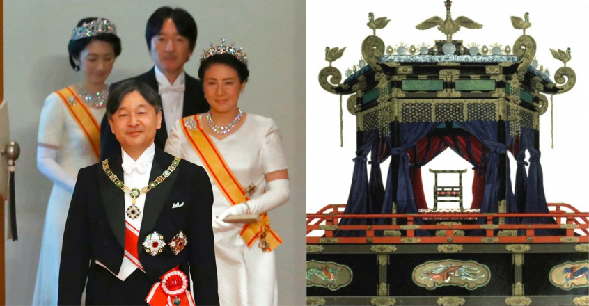 Japan's Emperor and Chrystanthemum Throne