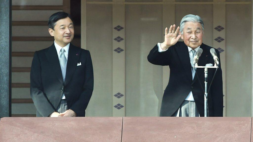akihito and naruhito