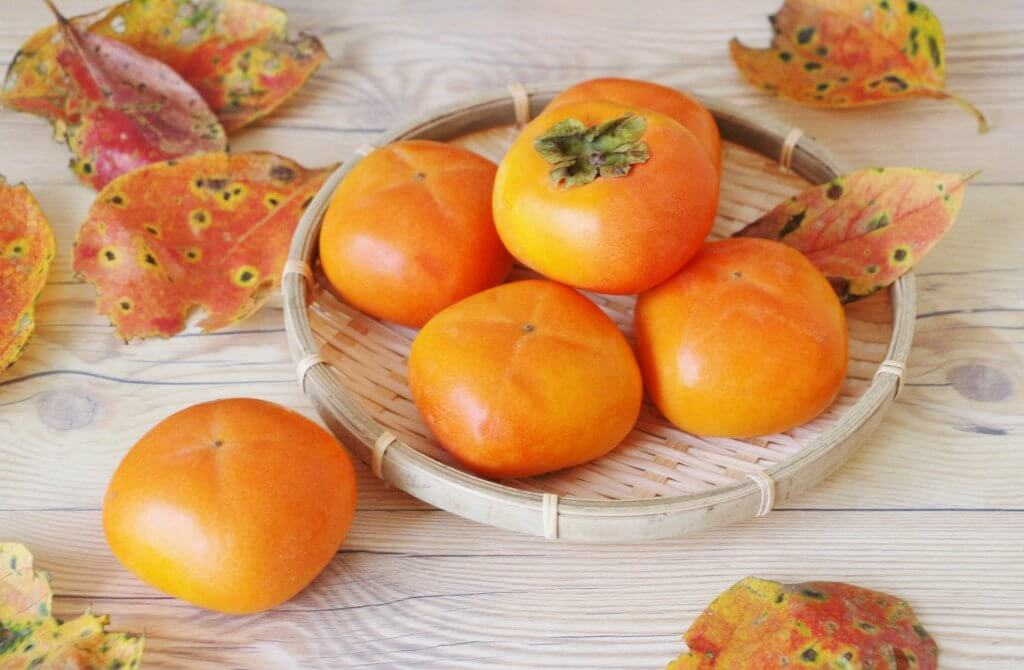 kaki persimmons in japan