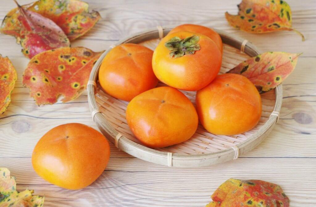 kaki persimmons in japan