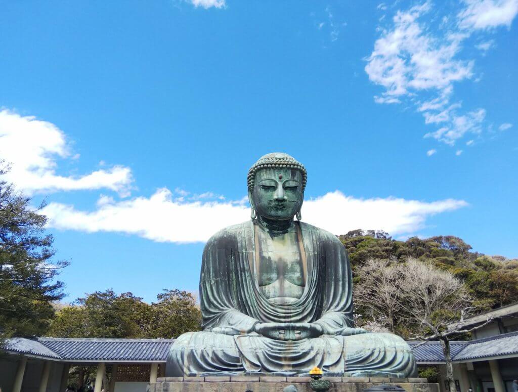 kamakura daibutsu buddha statue