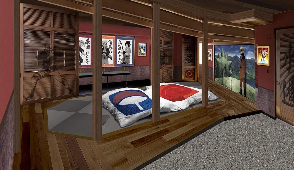 Naruto room
