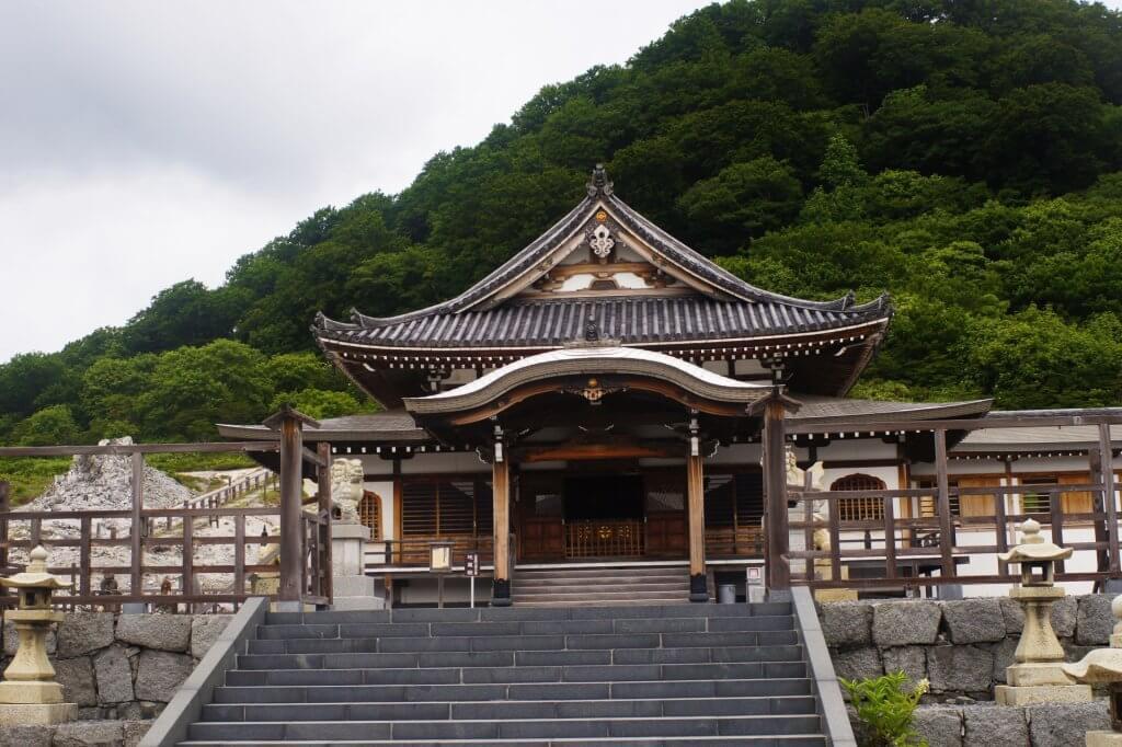 Osorezan temple