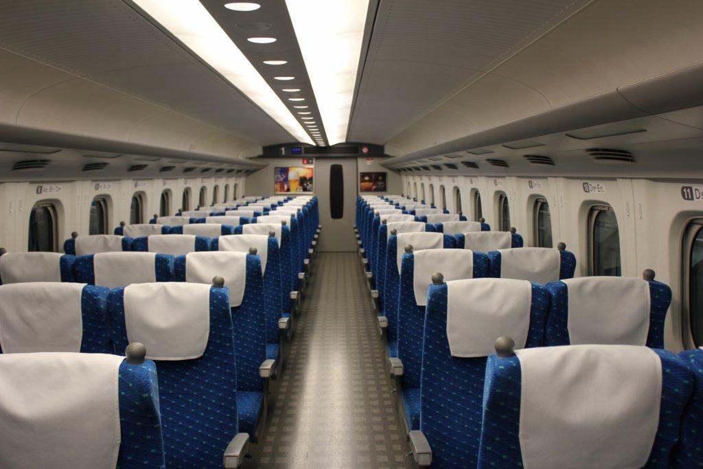 shinkansen reserved seating