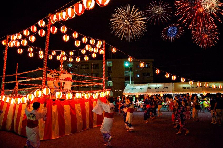 summer festivals Natsu matsuri