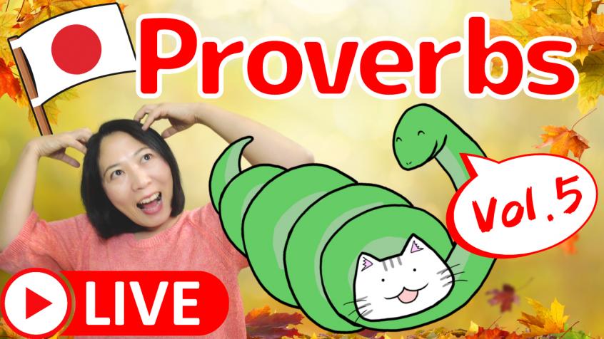 Japanese proverbs, kotowaza